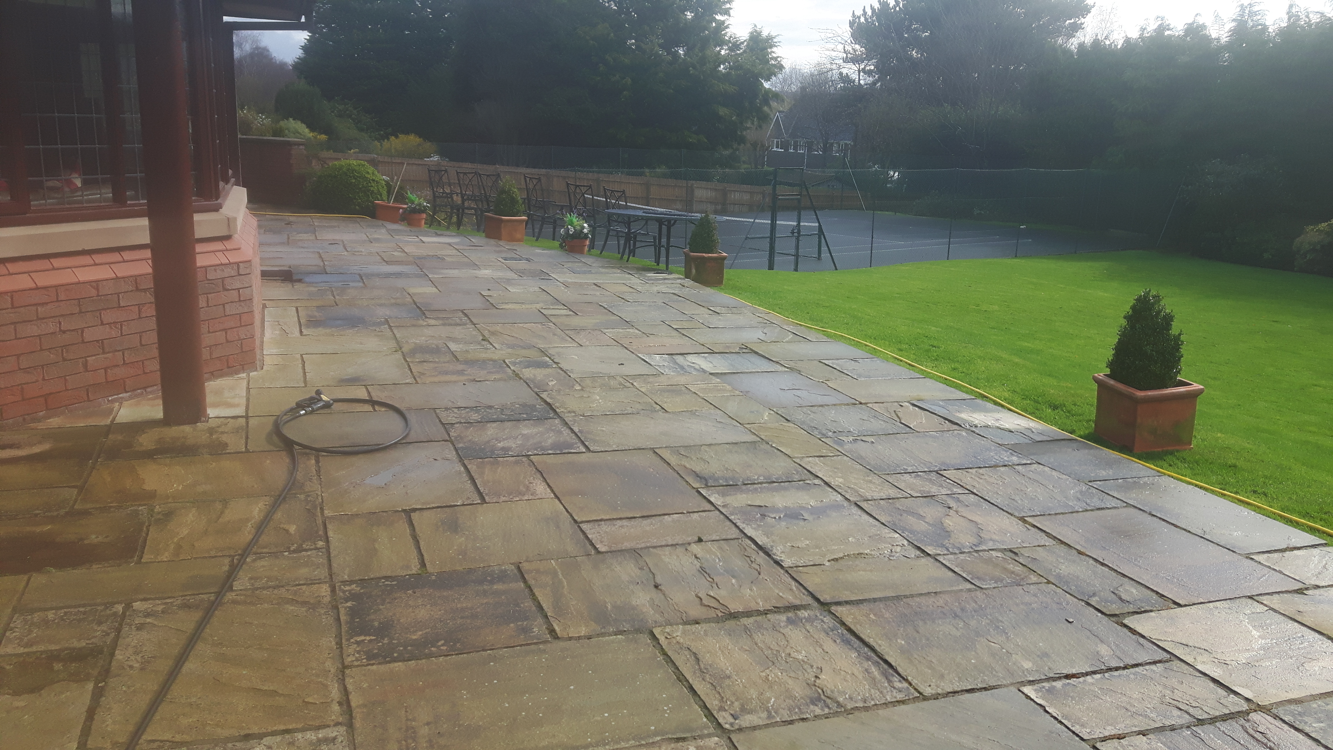 Patio Cleaning And Repairing Wirral Chester And Cheshire